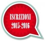 Iscrizioni anno scolastico 2015-2016